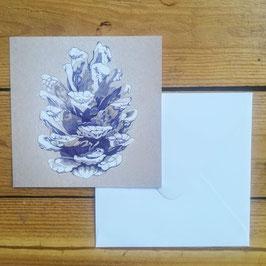 Postcards - Pinecone