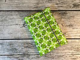Mutterpass Hülle Kleeblatt, Grün