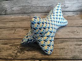 Leseknochen Blau/Gelb