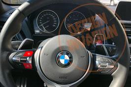 Rote / Blaue M1 / M2 Lenkrad Tasten F-Serie