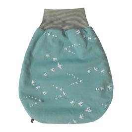 Baby-Schlafsack türkis