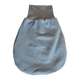Baby-Schlafsack  Öko-Strick blau