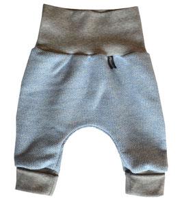 Newborn-Hose Ökostrick blau