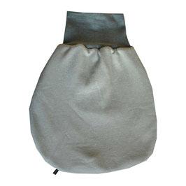 Baby-Schlafsack  Öko-Strick mintgrün