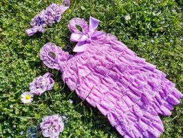 Ensemble barboteuse et fleurs de pieds
