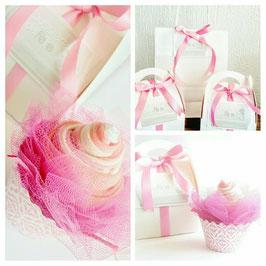 Cupcakes de chaussettes