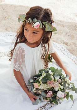 Couronne Maelle Rose