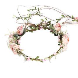 Couronne fleurs artificielles - Roses