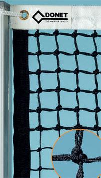 Tennisnetz DIN EN 1510 mit 5 Doppelreihen - Gurteinfassung auch Seitlich/Unten