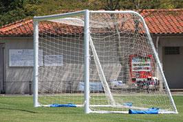 1 Paar Fußball Tornetze - 5,15 x 2,05 m - Tiefe: 0,90/2,00 m
