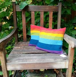 Kissen Regenbogen