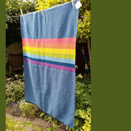 Minidecke Regenbogen 130x95cm