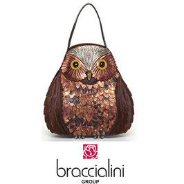 BRACCIALINI OWL HANDBAG