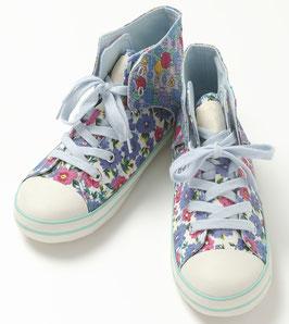綠仙子高筒布鞋
