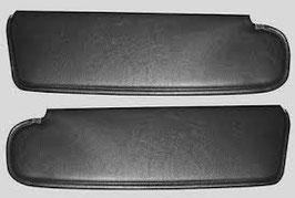Sonnenblenden Paar schwarz Challenger Coupe 72-73