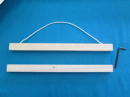RICO DESIGN 木製ベルプル 30cm (Posterhangingrail)