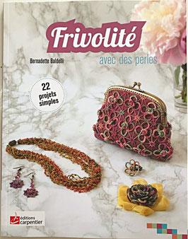FRIVOLITÉ   avec des perles (Bernadette Baldelli)