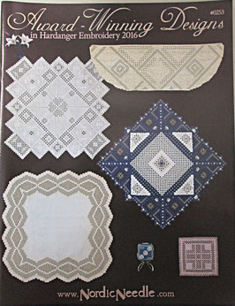 NordicNeedle 「 Award-Winning-Design in Hardanger Embroidary2016」 #0253