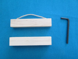 RICO DESIGN 木製ベルプル 10cm (Posterhangingrail)