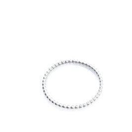 Perlring *Silber* 1.5