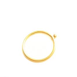 Ring *Gold* Kugel 1.5