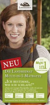 Landheimat Multi-in-1-Matratze
