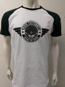 Rock University Baseball T-Shirt white
