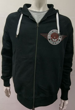 Rock University Zip-Hoody black