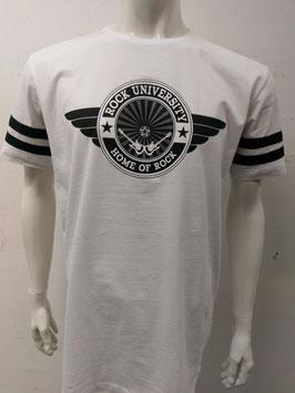 Rock University College T-Shirt white