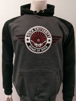 Rock University Hoody dark grey