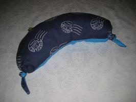 Stillmond blau