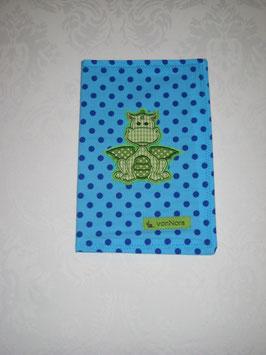 U-Hefthülle Drache grün-blau
