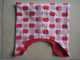 Mütze rote Äpfel