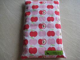 Kirschkernkissen Äpfel rot