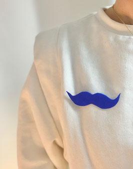 broche moustache