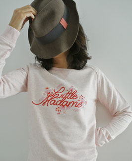 SWEAT SHIRT ROSE CHINE