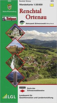 Wanderkarte Renchtal/Ortenau