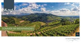 Maxi-Postkarte Sommer im Weinparadies