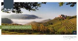 Maxi-Postkarte Herbst im Weinparadies