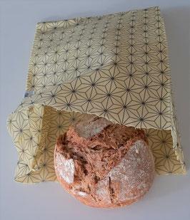 Natao Bienenwachstuch Znünisäckli, Sterne Design, 23x25 cm