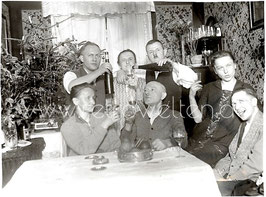 Alte Fotografie SILVESTERFEIER 1928