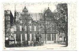 Alte Postkarte BREMEN Gewerbehaus, 1903