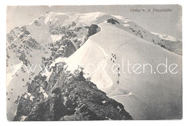 Alte Fotografie Postkarte BERGSTEIGER AUF DEM ORTLER