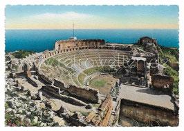 Alte Foto Postkarte TAORMINA Teatro Greco - 1950er Jahre