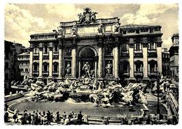Alte Postkarte  ROMA - Fontana di Trevi