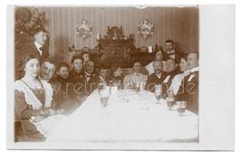 Alte Foto Postkarte DIE VERLOBUNGSFEIER 1913