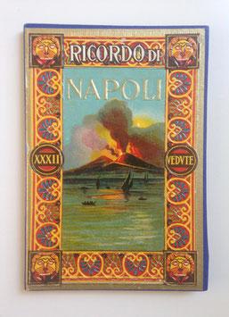 Leporello Foto Bildband  RICORDO DI NAPOLI, ITALIEN