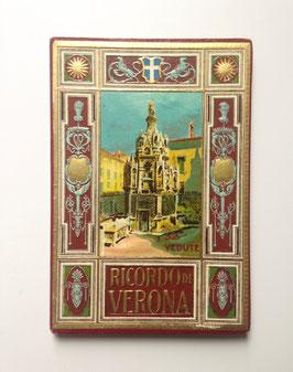 Leporello Foto Bildband  RICORDO DI VERONA, ITALIEN
