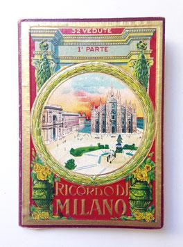 Leporello Foto Bildband  RICORDO DI MILANO, 1a parte