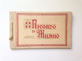 "Foto Bildband ""RICORDO DI MILANO - 48 VEDUTE PRINCIPALI "" Italien um 1920"